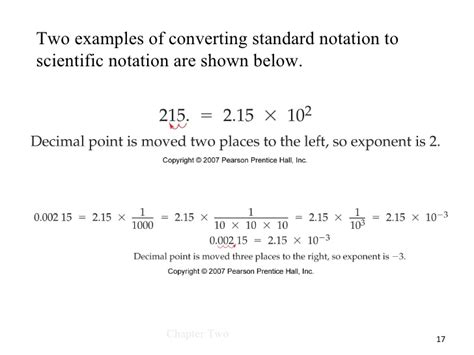 worksheet 3 scientific notation and significant figures