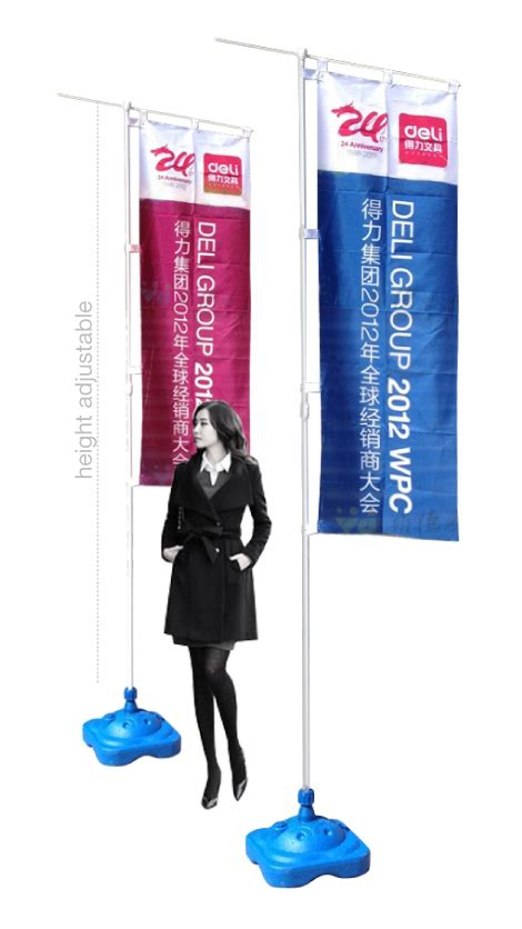 flying flag banner stand display system supply banner flag printing millioncolour display