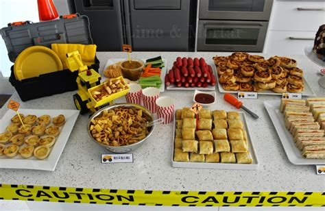 construction cuisine construction themed foods search liam