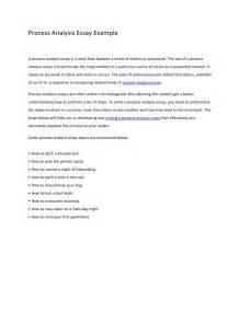 Process Analysis Essay Examples