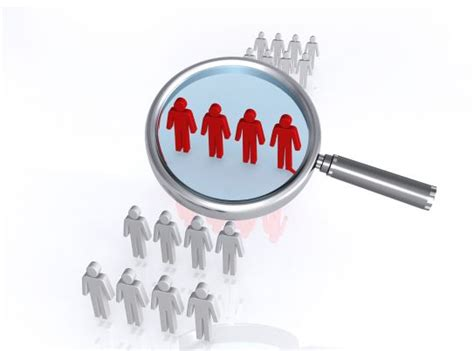 focus group magnifying glass image graphic stock