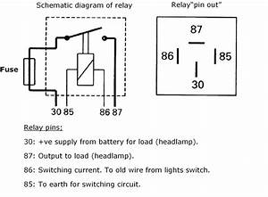 Relay Wiring Diagram 5 Pin  U2013 Nrg4cast Com