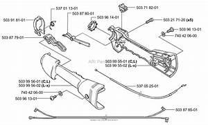 Husqvarna 326 L  2001 Lx Throttle
