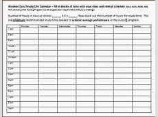 3+ weekly schedule template pdf Ganttchart Template