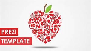 how to download prezi template - love of food prezi template youtube