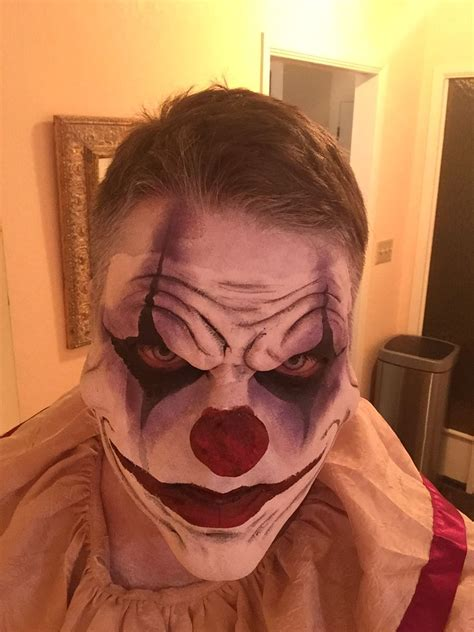 scary clown   halloween clown scary clown makeup creepy clown makeup