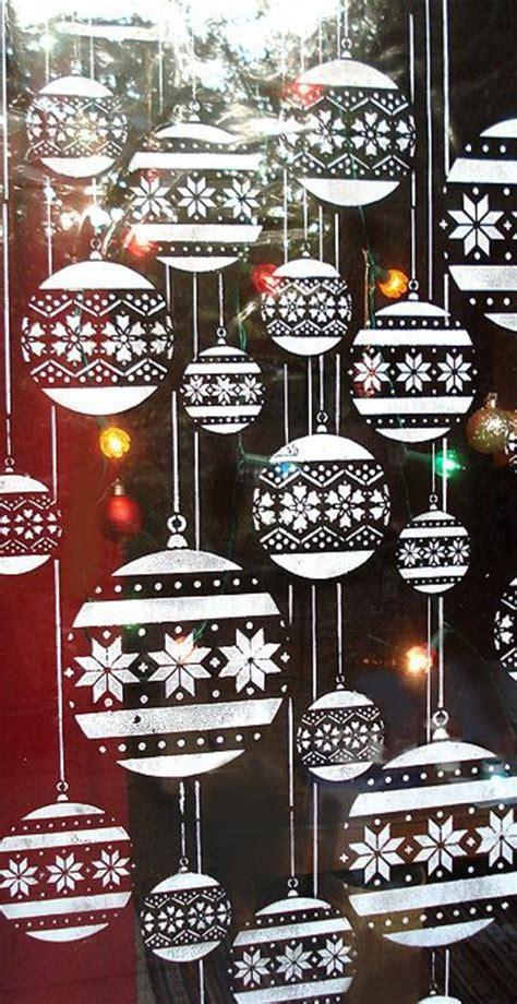 Fensterdeko Weihnachten Vorlagen by Feine Fensterbilder Zu Weihnachten Und Winterzeit
