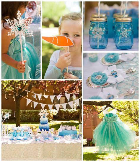 Kara's Party Ideas Frozen Themed Birthday Party {ideas