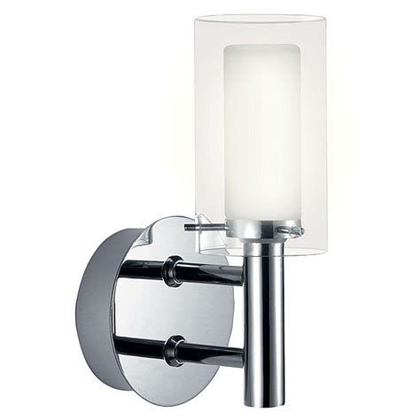 palermo 1 light chrome wall l 88193a the home depot