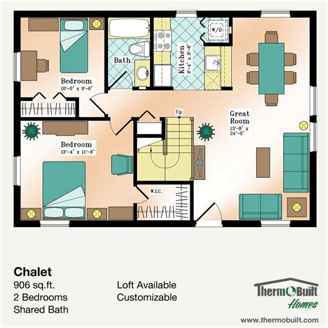 plan chalet thermobuilt homes