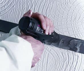 asbestos textured coatings removed