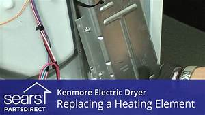 How To Replace A Kenmore Electric Dryer Heating Element