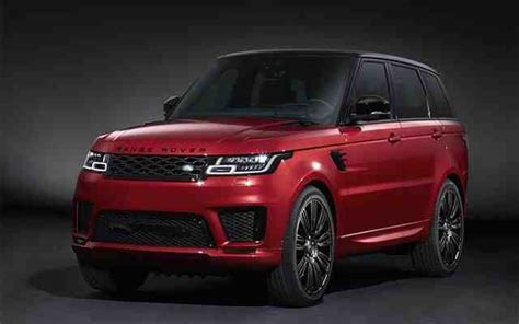 2020 Range Rover Sport by New Land Rover Range Rover Sport 2020 News Reviews