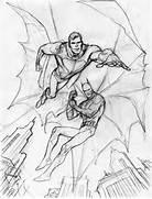 Pencil Drawings Of Bat...