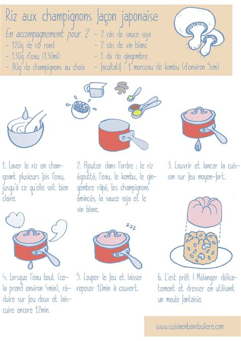 cuisine de a à z recettes recette du riz façon japonaise cuisine en bandoulière