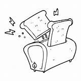 Toaster Drawing Cartoon Line Bulldozer Excavator Getdrawings Drawn sketch template