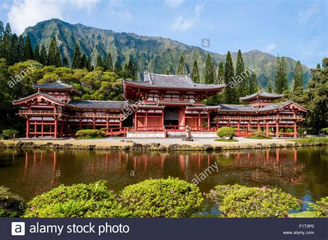Byodo-in Temple, Valley Of The Temples, Kaneohe, Oahu