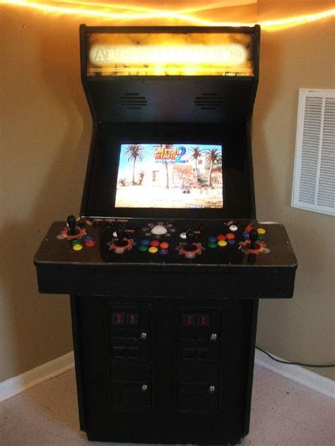 4 Player Arcade Cabinet Plans by Arcade Cabinet Exles Page