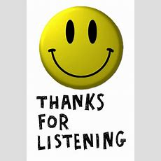 Thank You For Listening Logos