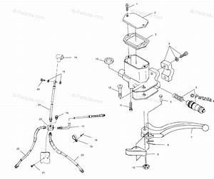 Polaris Atv 2000 Oem Parts Diagram For Controls  Master