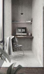BW interior in PecherSKY on Behance   Pisos, Textura ...