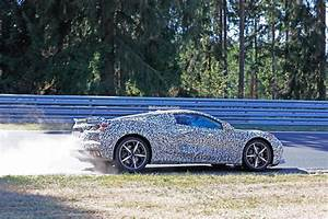 2020 Chevrolet Corvette Spied Testing with C7 at