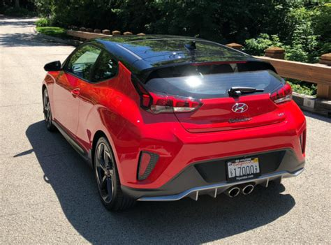 2019 Hyundai Veloster Turbo Review by 2019 Hyundai Veloster Turbo Ultimate Review Hatching