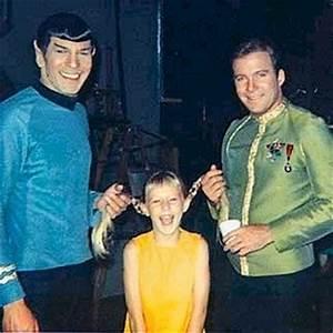 Kirk/Spock - Behind the Scenes - James T. Kirk Photo ...
