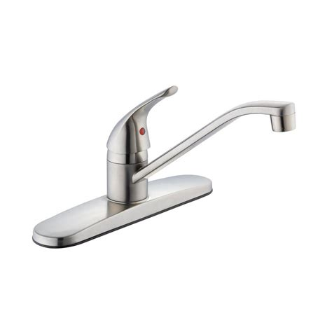 Glacier Bay Kitchen Faucet Problems by Glacier Bay Single Handle Standard Kitchen Faucet In