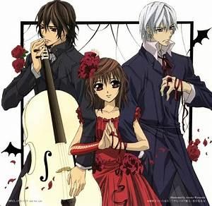 Vampire Knight Kaname , Yuki and Zero. | Vampire Knight ...