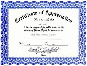 6 appreciation certificate templates certificate templates With certificate templates for word free downloads