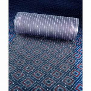 Cactus mat 3548r 3 anchor runner 339 wide clear vinyl heavy for Vinyl carpet runner