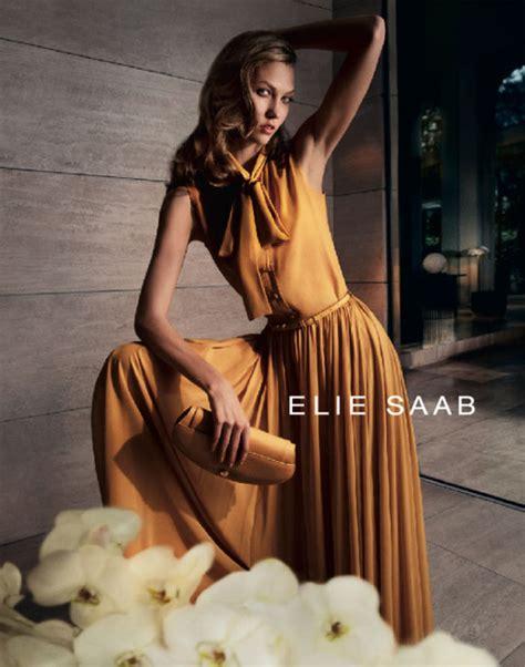 Karlie Kloss For Elie Saab Spring Campaign Cedric