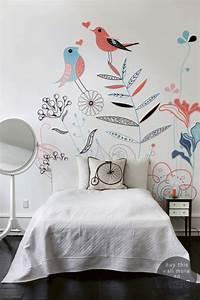 Déco chambre bébé papier peint enfant