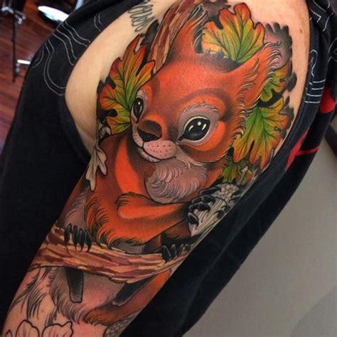 pretty squirrel tattoo  tattoo ideas gallery