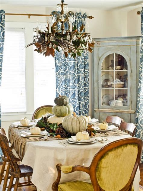 rustic thanksgiving table setting ideas hgtv
