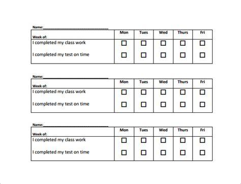 Behavior Modification Report Exle by Behavior Charts For Teachers Pdf Rota Template