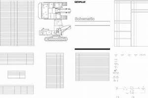 325b Material Handler Electrical Schematic Used In Service Manual Senr8955