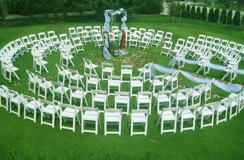 Spiral Wedding Ceremony Idea Circular Albany Wedding