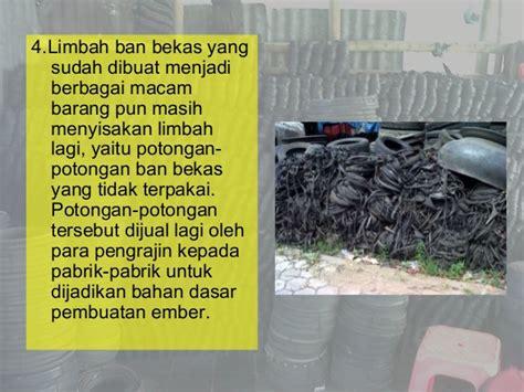 pemanfaatan limbah ban bekas