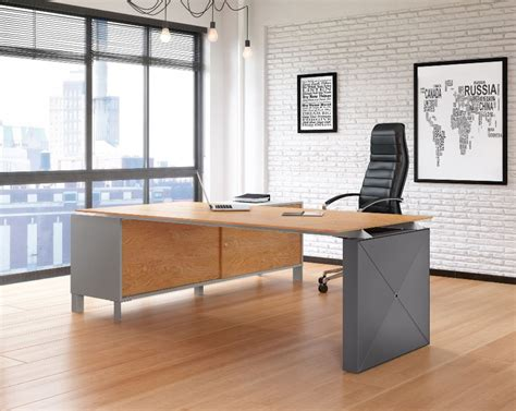 Office Desk Gray by Office Desks Chairs Furniture Range Weaver Bomfords