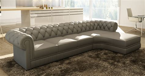 canapé chesterfield deco in canape d angle gris capitonne chesterfield