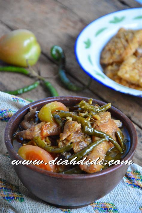 diah didis kitchen ayam lombok ijo cooking