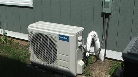 Mitsubishi Air Conditioner Installation by Mrcool Diy 24k Mini Split Heat Air Conditioner