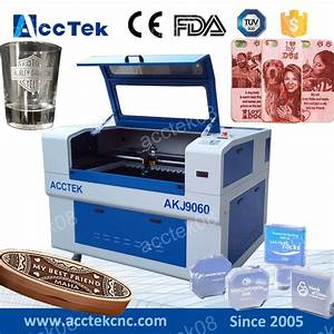 cheap cnc laser machine 6090 letter engraving machine 3d With letter engraving machine