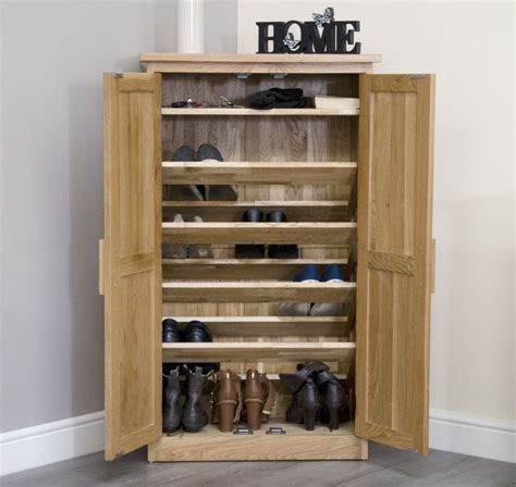 Kitchen Entryway Ideas - arden solid oak hallway hall furniture shoe storage cabinet cupboard rack ebay