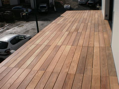 terrasse en bois ip 233 fixations visseries invisibles hapax