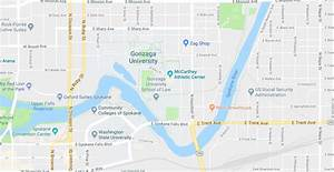 Where is Gonzaga University Located | Where is Map