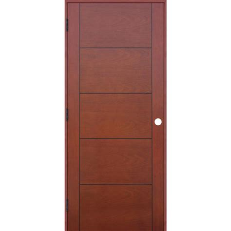 home depot wood doors interior pacific entries 18 in x 80 in contemporary prefinished 5