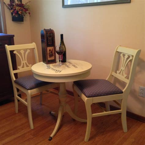 sold vintage bistro table and chairs sold
